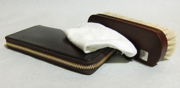 ブライドルレザー財布の手入れ方法