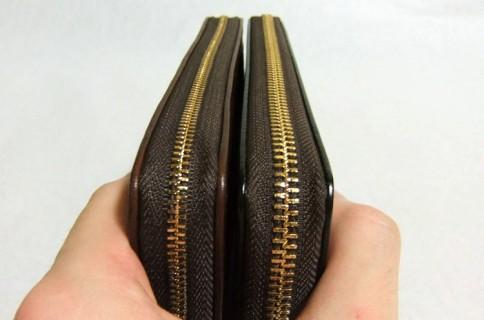 マットーネオーバーザウォレットとブライドルグランドウォレット・財布の厚み