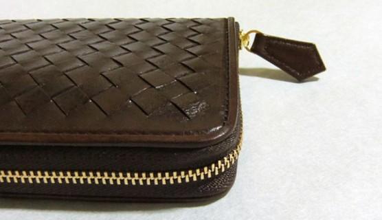 マットーネ オーバーザウォレット・サイドの縫製