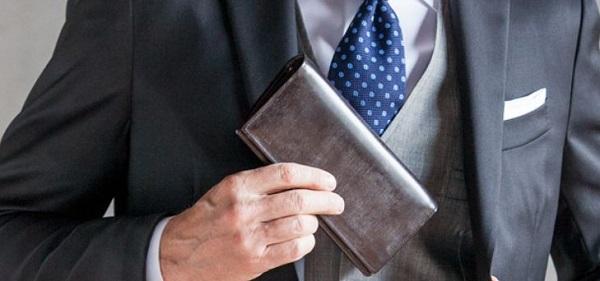 スーツに合う革財布として最もおすすめのブライドルレザー財布