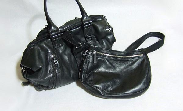 財布メンズクリップ私物の革鞄