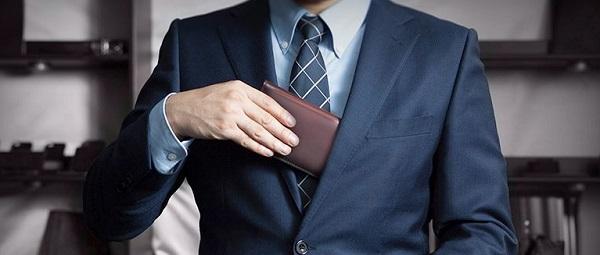 社会人なら本革の財布が一番良いですね