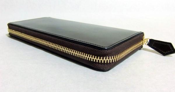 英国産最高級ブライドルレザーを使ったダントツ人気のラウンドファスナー長財布