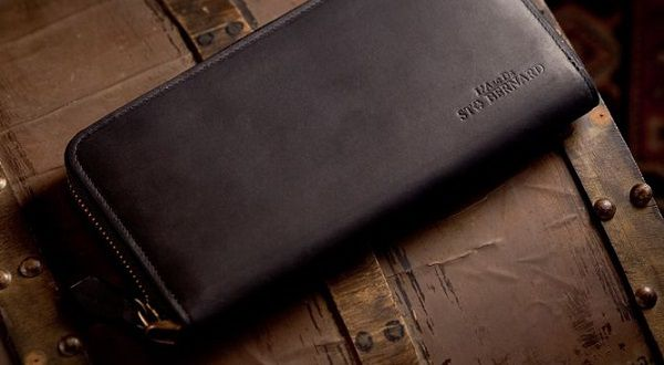 イタリア産最高級ボックスカーフを使ったラウンドファスナー長財布です