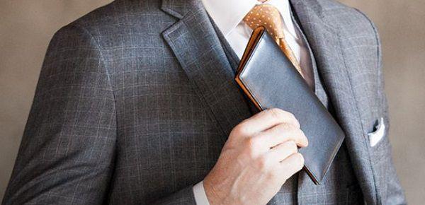 シンプルで普遍的なメンズ長財布