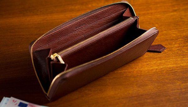 日本職人ハンドメイドのミネルバボックス長財布メンズ