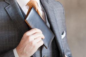 薄さを保つのはササマチの長財布