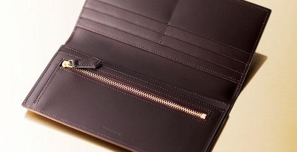 非常に贅沢な作りのメンズ長財布です